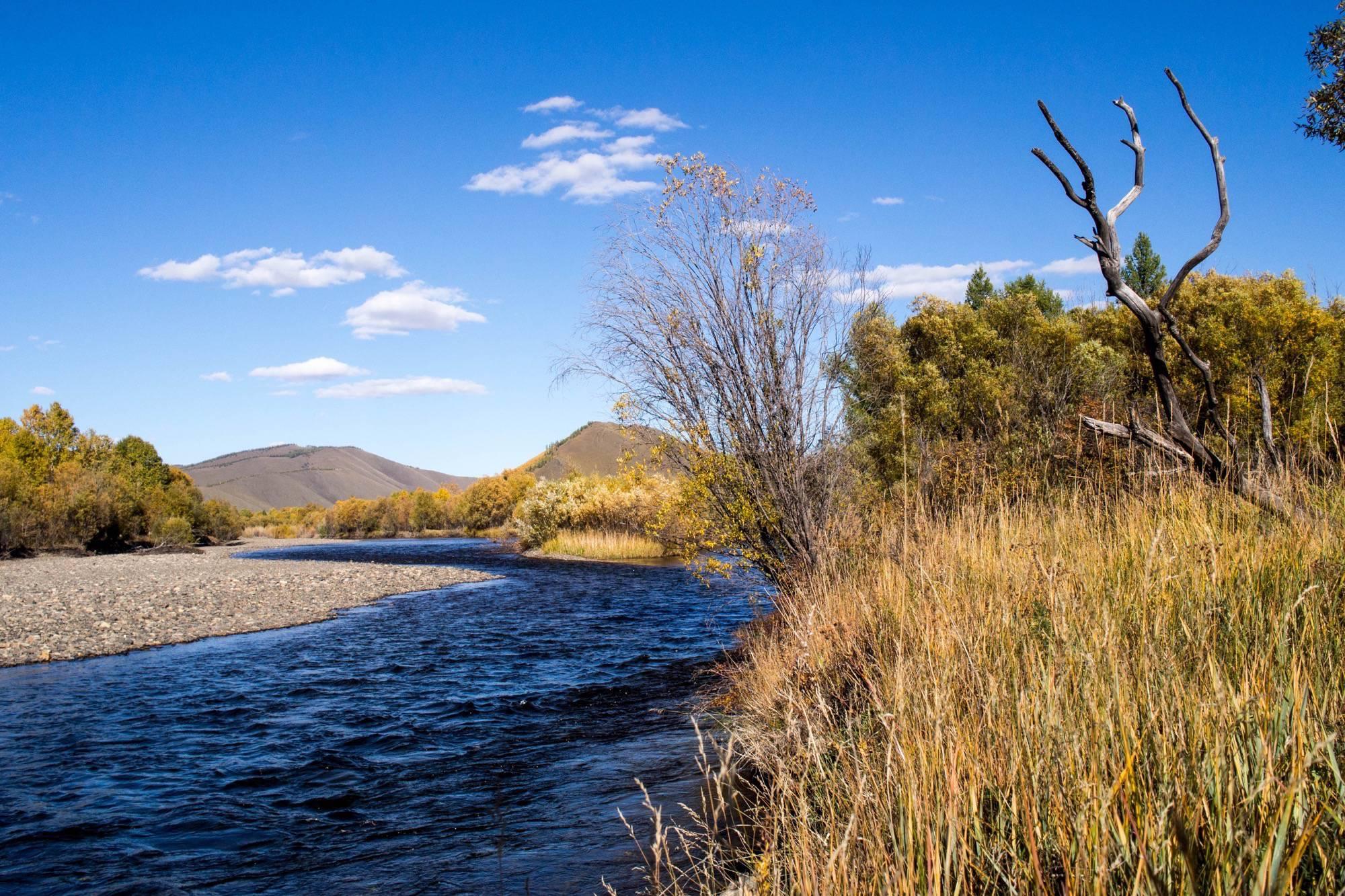 Tuul River, Jalman Meadows, Mongolia
